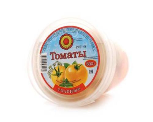 Томаты солёные ТМ Фабрика домашних солений