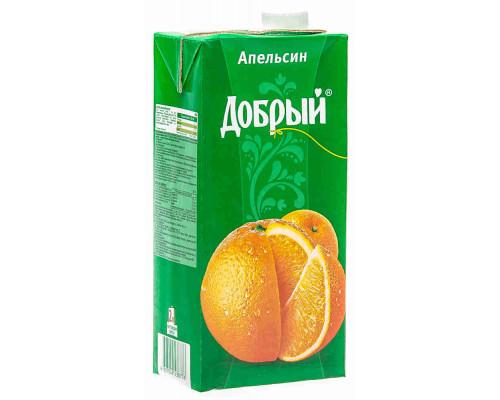 Нектар Добрый апельсин 2л т/п