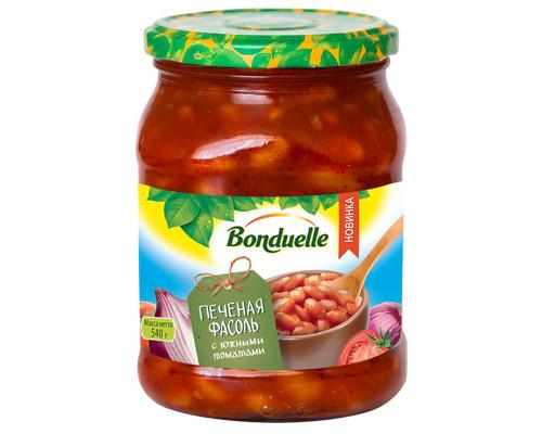 Фасоль ТМ BONDUELLE, печеная с томатами 540 г