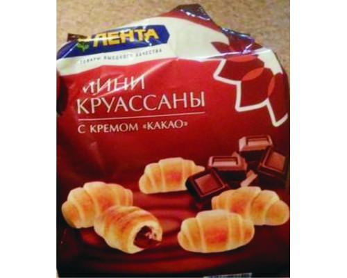Круассаны ТМ Лента, мини, с какао, 180 г