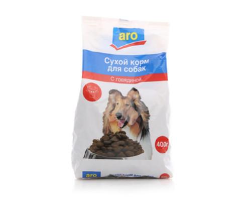 Корм сухой для собак с говядиной ТМ Aro (Аро)
