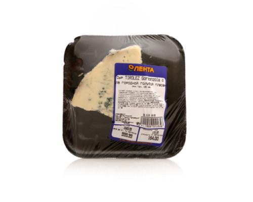 Сыр Tirolez Gorgonzola с благородной голубой плесенью ТМ Лента (Тиролез Горгонзола)