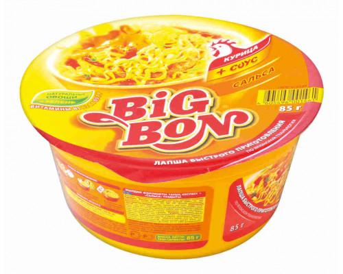 Лапша BigBon куриная соус сальса 85г