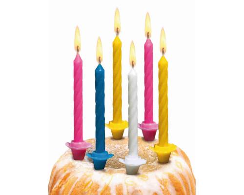 Свечи для торта 12шт мал.