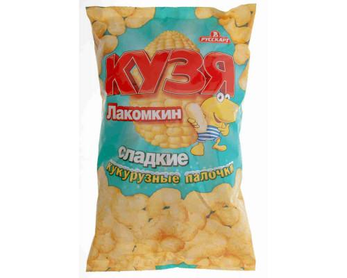 Снек кукурузный Кузя Лакомкин 140г