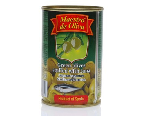 Оливки с тунцом ТМ Maestro de Oliva (Маэстро де Олива)