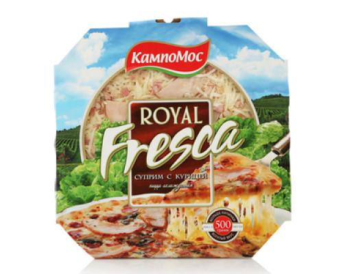 Пицца Суприм с курицей Royal Fresca (Роял Фреска) ТМ КампоМос