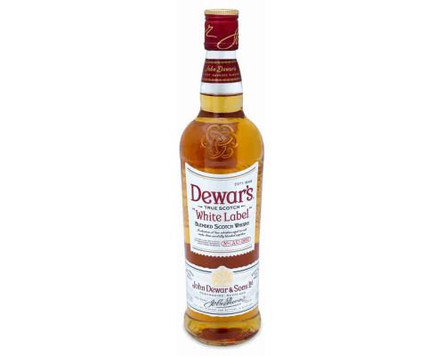 Виски Дюарс Белая Этикетка 40% 0,7л ПУ
