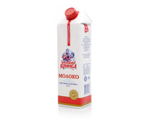 Молоко 3,2% ТМ Бабушкина крынка