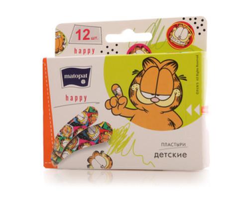 Пластыри детские Happy ТМ Matopat (Матопат), 12 шт