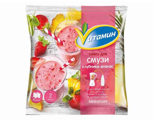 Смесь Vитамин д/смузи клубника/ананас с/м 300г
