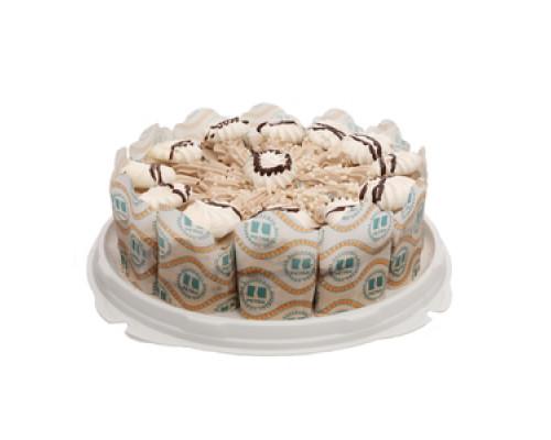 Торт бисквитный Шоколадный ТМ Петра Плюс