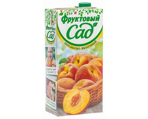 Нектар Фруктовый Сад яблоко/персик с мякотью 1.93л т/п