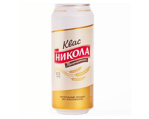 Квас НИКОЛА традиционный 500 мл