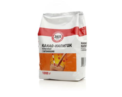 Какао-напиток растворимый с витаминами ТМ 365 дней