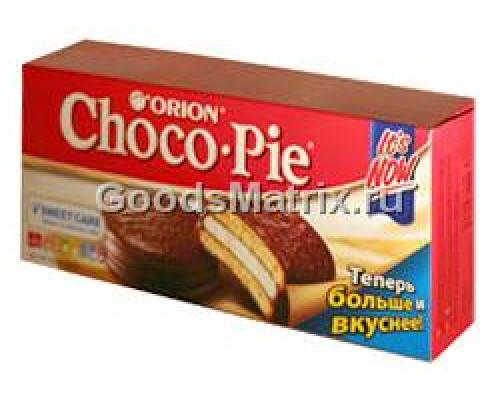 Печенье ТМ Choco Pie (Чоко Пай) Orion, 180 г