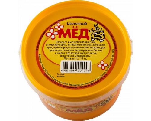 Мёд натуральный цветочный 1000 г
