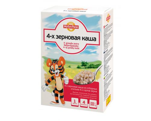 4-х зерновая каша MYLLYN PARAS (МЮЛЛЮН ПАРАС), 300 г