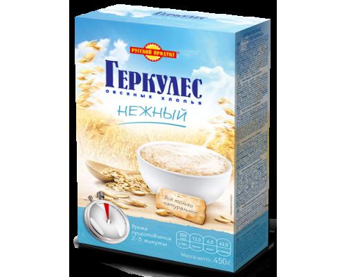 Овсяные хлопья ТМ Русский продукт Геркулес нежный, 450 г