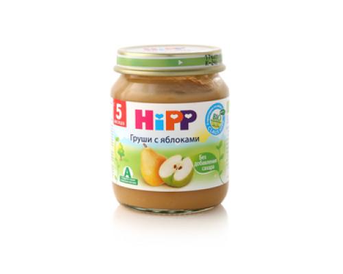 Пюре груша с яблоками ТМ Hipp (Хипп)