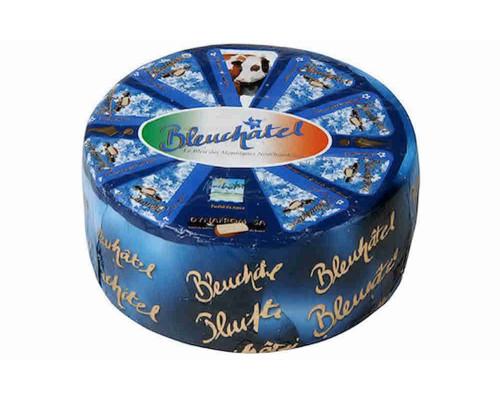 Сыр Margot Bleuchatel с голубой плесенью 55% кг