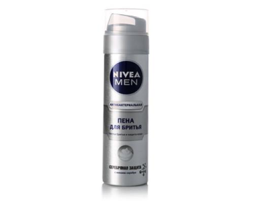 Пена для бритья nivea men (нивеа мэн) серебряная защита антибактериальная ТМ Nivea (Нивеа)