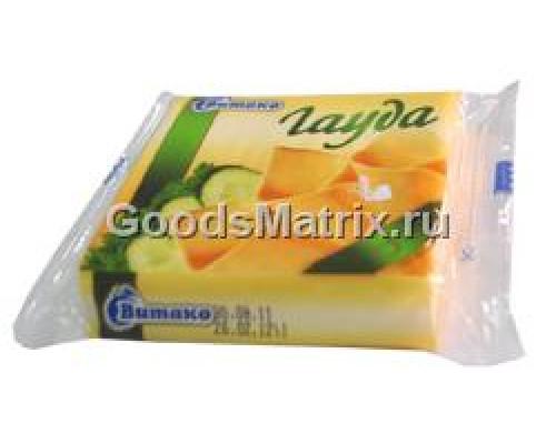 Сыр плавленый ломтики Гауда ТМ Витако 45%,130 г
