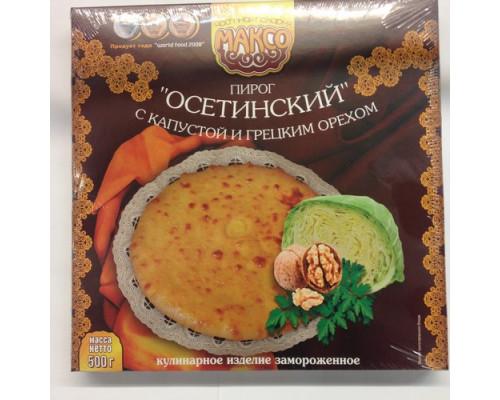 Пирог Осетинский ТМ Максо, с капустой и грецким орехом, 500 г