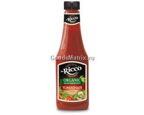 МИСТЕР РИККО Кетчуп томатный 570г пл/б(НЭФИС):12