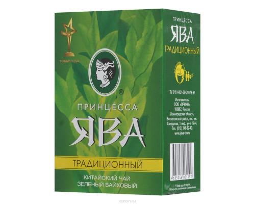 Чай зеленый ТМ Принцесса Ява Традиционный, листовой, 100 г