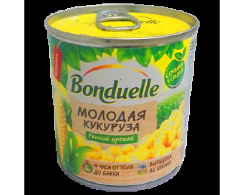 Кукуруза молодая ТМ Bonduelle (Бондюэль), сладкая, 212 мл