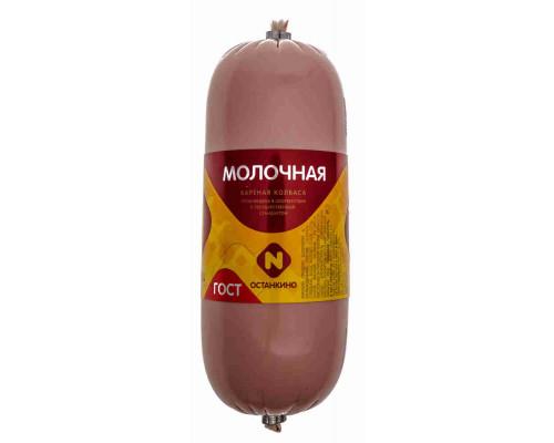 Молочная вареная Останкино в/с ГОСТ 500г п/о