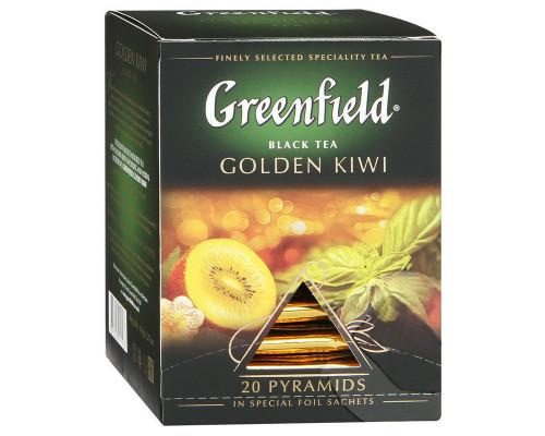 Чай черный ТМ Greenfield (Гринфилд) Golden Kiwi, 20х1,8 г