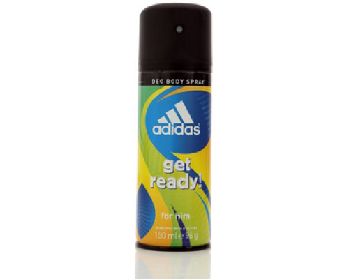 Дезодорант-спрей для тела для мужчин get ready! For him Deo Body Spray ТМ Adidas (Адидас)