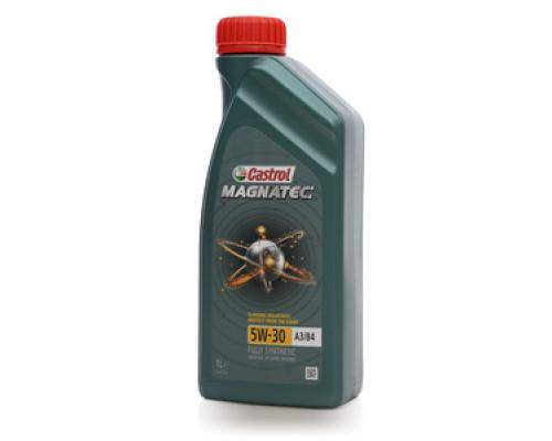 Масло моторное синтетическое Magnatec 5W-30 (магнатек) ТМ Castrol (кастрол)