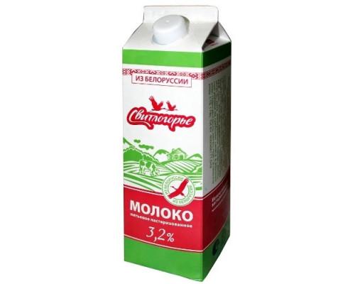Молоко ТМ Свитлогорье, ультрапастеризованное питьевое 3,2% 1 л