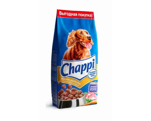Корм д/собак сухой Chappi Мясное изобилие 15кг
