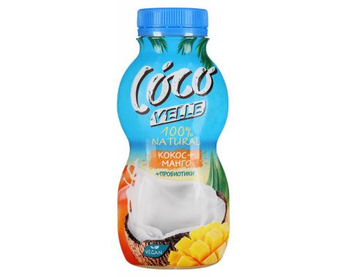 Продукт питьевой кокосовый COCO VELLE со вкусом манго, 250 г