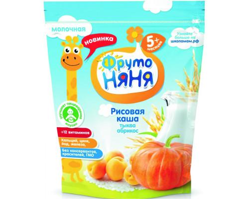 Каша молочная ФрутоНяня Рис/Тыква/Абрикос с 5 мес, 200г