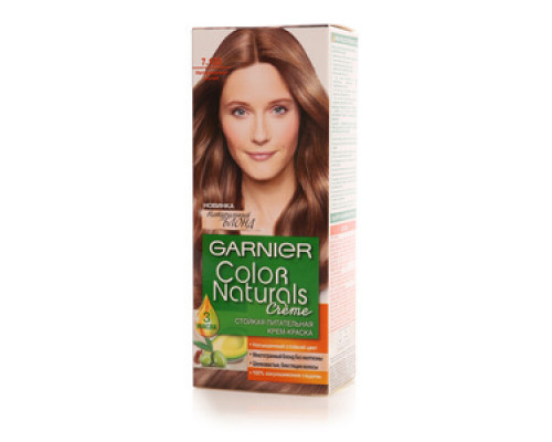 Стойкая питательная крем-краска 'Color Naturals' 7.123 натуральный русый ТМ Garnier (Гарньер)