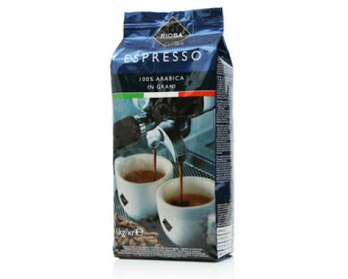 Кофе в зернах жареный Espresso ТМ Rioba (Риоба), 1 кг