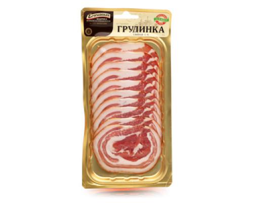 Грудинка свиная с/к  ТМ Егорьевская фабрика колбасно-гастрономическая им. К.Ю. Афанасьева