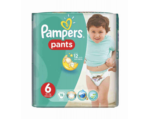 PAMPERS Трусики ExtraLarge 19