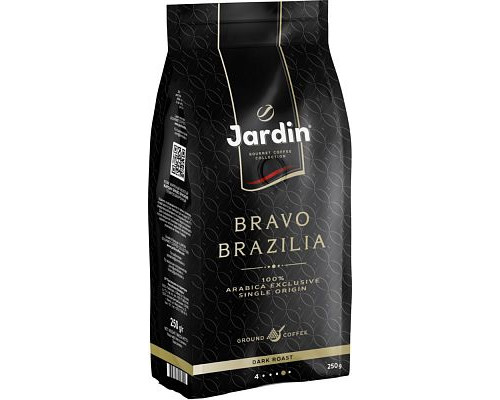 Кофе молотый ТМ Jardin (Жардин) Bravo Brazilia, 250 г