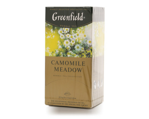 Фиточай Camomile Meadow 25*1,5 г  ТМ Greenfield (Гринфилд)
