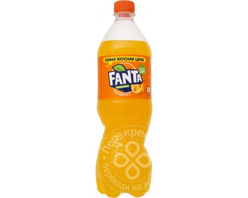 Напиток ТМ Fanta (Фанта) апельсин с витамином, сильногазированный, 900 мл