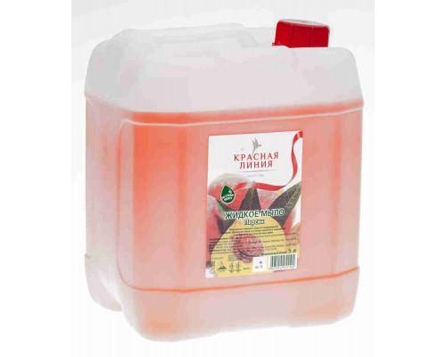Мыло жидкое Красная линия персик 5л