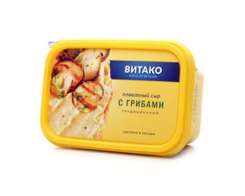 Сыр ТМ Витако, плавленый, с грибами, 60%, 400 г