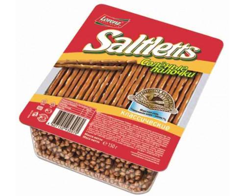 Соломка ТМ Saltletts (Солтлетс), cоленые 150 г
