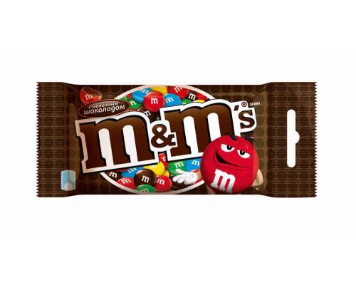 Драже Mars M&M`s с шоколадом 45г